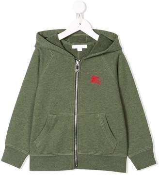 Burberry Cotton Jersey Hooded Top