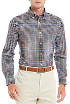Daniel Cremieux Signature Slim-Fit Dobby Check Long-Sleeve Woven Shirt