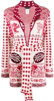 Thumbnail for your product : John Galliano Pre-Owned 1990's Intarsia Cardigan