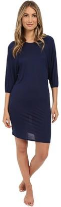 Hanro Women's Susana 3/4 Sleeve Gown