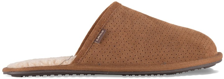 Lamo Landon Men's Suede Slippers