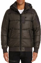 G Star G-STAR Whistler Quilted Hooded Bomber Jacket