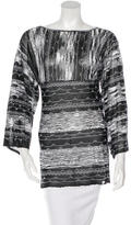 M Missoni Long Sleeve Knit Tunic