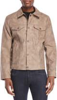 Levi's Mocha Faux Suede Trucker Jacket