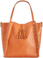 INC International Concepts Venice Whipstitch Tote with Removable Pouch, Only at Macy's