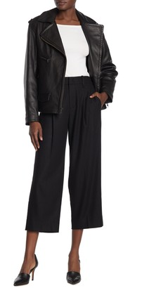 Vince Pleated Front Flannel Culottes