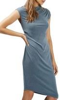 Topshop Women's Asymmetric Slinky Drape Midi Dress