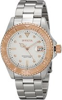 Invicta Men's 12837 Pro Diver Automatic Silver Dial Watch
