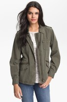 Velvet by Graham & Spencer Women's Lily Aldridge For Army Jacket