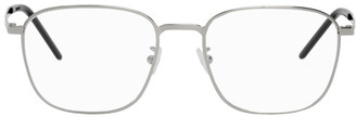 Saint Laurent Silver SL 352 Slim Glasses