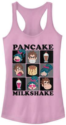 Disney Juniors' Wreck-It Ralph 2 Milkshake Squared Ideal Racerback Tank Top