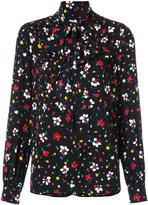 Marc Jacobs floral tie neck blouse - women - Silk - 2