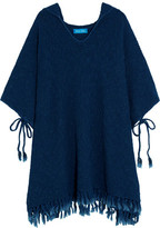 MiH Jeans Malaquite Cotton-Blend Hooded Poncho