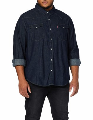 Levi's Big and Tall Men's Big Classic Western Casual Shirt