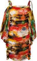 Giuseppe Di Morabito cold-shoulder shift dress