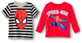 Spiderman Toddler Boys' Long Sleeve T-Shirt - Red