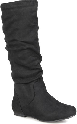 Journee Collection Rebecca Slouchy Riding Boot
