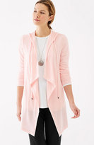 J. Jill Pure Jill Luxe Tencel® Hooded Jacket
