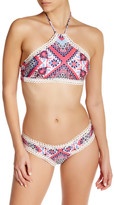 Becca Secret Garden High Neck Bikini Top