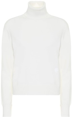 Chloé Cashmere-blend turtleneck sweater