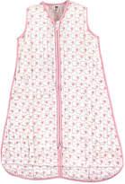 Hudson Baby White & Pink Sheep Sleeping Sack