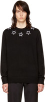 Givenchy Black Stars Crewneck Sweater