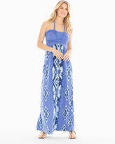 Soma Intimates Halter Shirred Bodice Maxi Dress RG