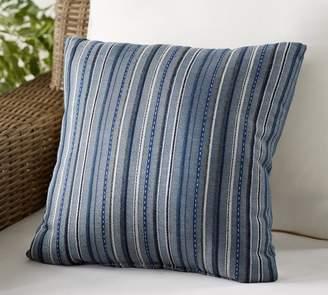 Pottery Barn Sunbrella®; Neuberry Striped Indoor/Outdoor Pillow