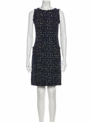Chanel 2011 Mini Dress Blue