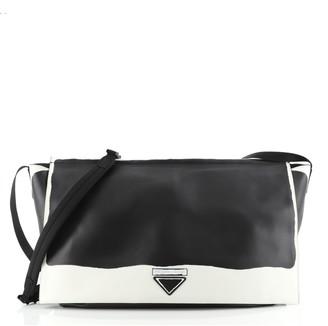 Prada Concept Flap Messenger Leather Large