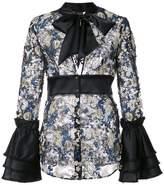 La Perla bow neck blouse