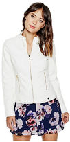GUESS Women's Posha Faux-Leather Jacket