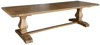S & G Imports Rectangular Oak Dining Table 300cm