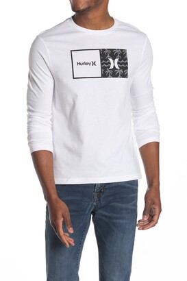Hurley Graphic Print Long Sleeve T-Shirt