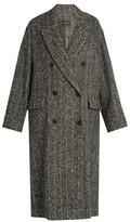 Isabel Marant Habra tweed coat
