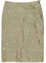 Joseph Silk Embroidered Skirt