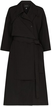 Low Classic Two-Way Adjustable Trench Coat