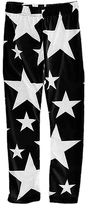 Urban Smalls Black & White Star Toasties Leggings - Infant Toddler & Girls