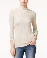 Lucky Brand High-Low Turtleneck Top