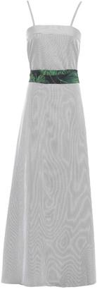 Isolda Striped Poplin Dress
