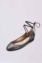 Diane von Furstenberg Paris Leather Flat