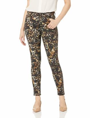 AG Jeans Women's Printed Sateen Farrah Skinny Ankle
