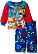 Nickelodeon Boys' Paw Patrol 2-Piece Fleece Pajama Set