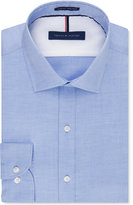 Tommy Hilfiger Men's Slim-Fit Non-Iron Soft Wash Solid Dress Shirt