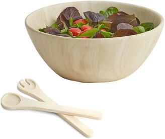 Woodard & Charles Provencal Collection 3Pc Salad Bowl & Servers Set