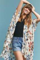 Anthropologie Betsy Floral Kimono