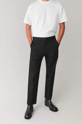 Cos TROUSERS WITH ADJUSTABLE WAIST
