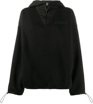 NO KA 'OI Logo-Print Zipped Hoodie
