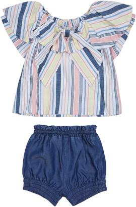 Habitual Kids Ruffle Top & Shorts Set