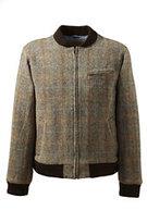 Classic Men's Willis & Geiger Harris Tweed Jacket-Persian Cobalt